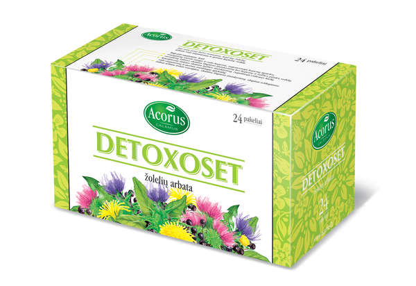 """Detoxoset"" (clear organism), 40g"