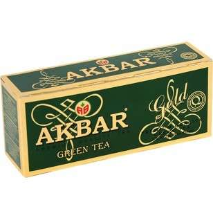 Green tea AKBAR GREEN GOLD 2gx25
