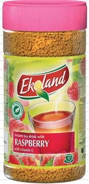 EKOLAND Raspberry tea drink 350g