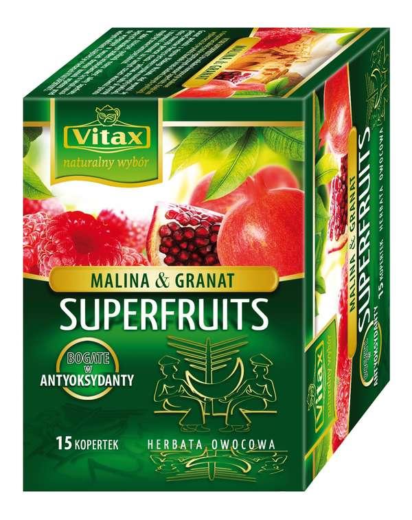 15 * 2g Fruit raspberry-pomegranate tea Vitax