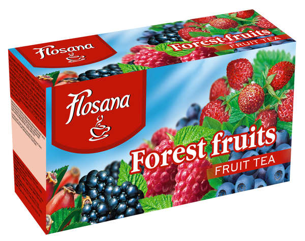 Forest fruit tea 20 * 2g FLOSANA