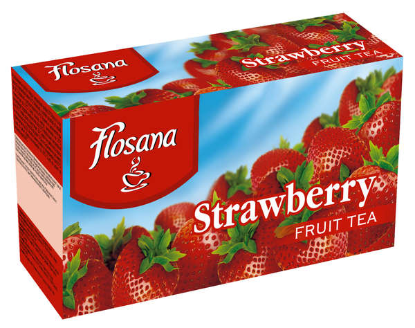 Strawberry tea 20 * 2g FLOSANA