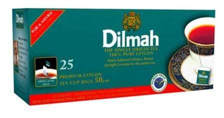 DILMAH 25 with thread/black tea 37,5 g