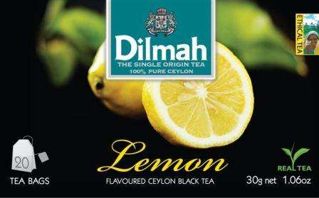DILMAH Lemon 20 with thread /lemon flavored black tee