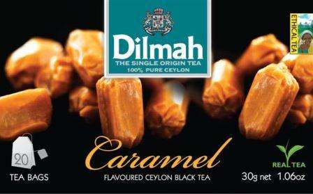 DILMAH Caramel 20 with thread/caramel flavored black tee