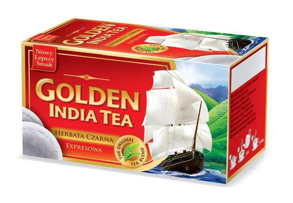 GOLDEN INDIAN TEA 100 Tbags 130 g /Black Tea