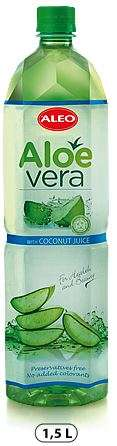 "ALOE VERA with coconut juice ""ALEO"" 1,5L/Drink (PET)"
