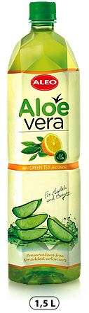 "ALOE VERA with Green tea and lemon ""ALEO"" 1,5L/Drink (PET)"
