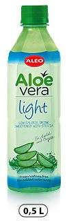 "ALOE VERA with Stevia ""ALEO Light"" 0,5L/Drink (PET)"