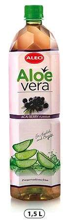 "ALOE VERA with Acai berry flavour ""ALEO"" 1,5L/Drink (PET)"