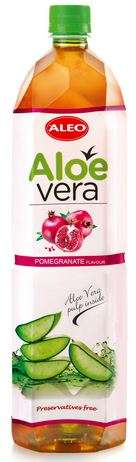 "ALOE VERA Pomegranate flavour ""ALEO"" 1,5L/Drink (PET)"