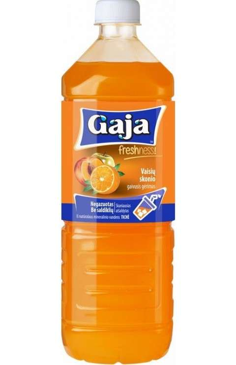 "Carbonated fruit flavour soft drink ""Gaja"", 0,5L"