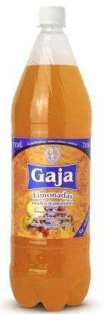 "Carbonated fruit flavour soft drink ""Gaja"", 1,5L"