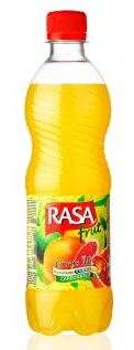 Carbonated drink RASA Citrus Mix, 0,5L
