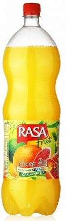 Carbonated drink RASA Citrus Mix, 2L