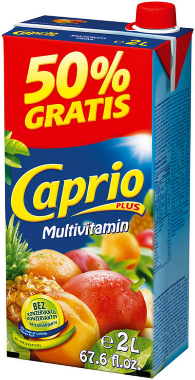 Multivitamin drink 2l CAPRIO