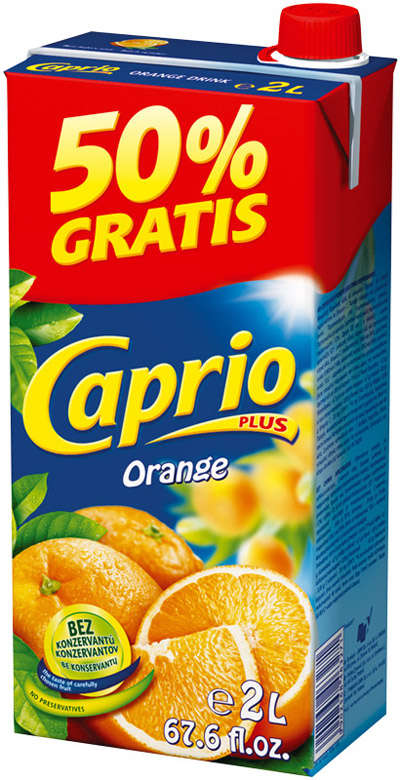 Orange drink 2L CAPRIO