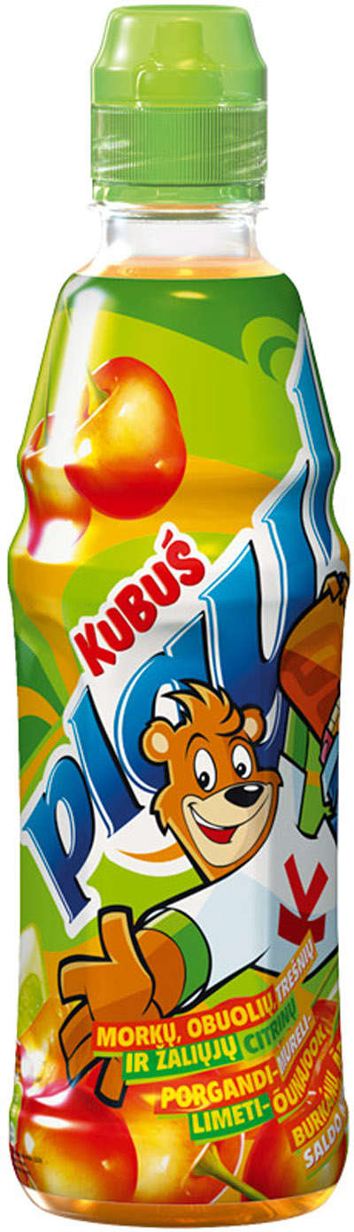 0.4L carrots, cherry-lime juice KUBUŠ PLAY