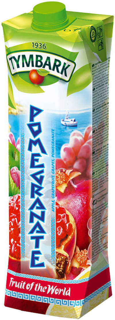 Pomegranate, grape, grapefruit drink 1L