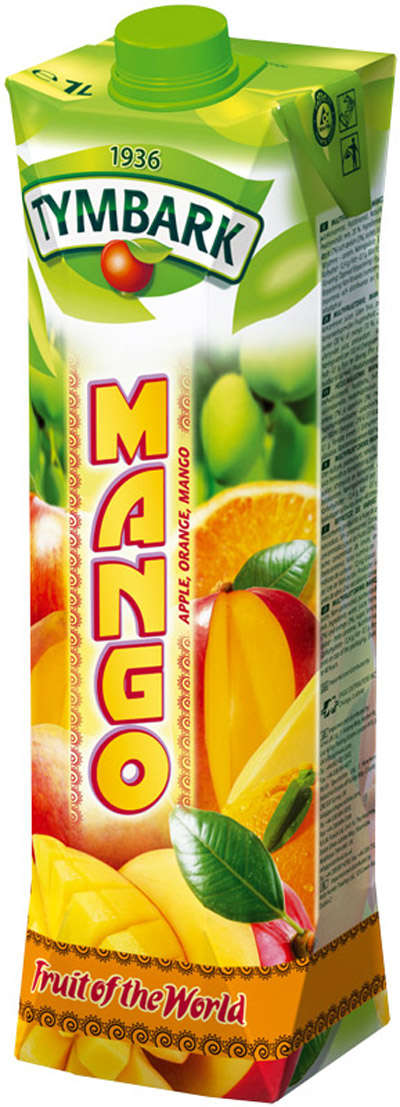 1L mango, apple, orange drink TYMBARK