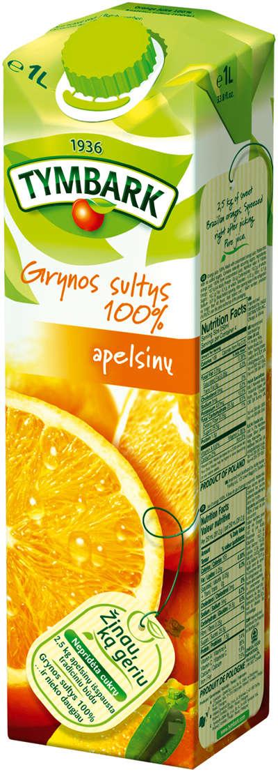 Orange juice 100 % 1L