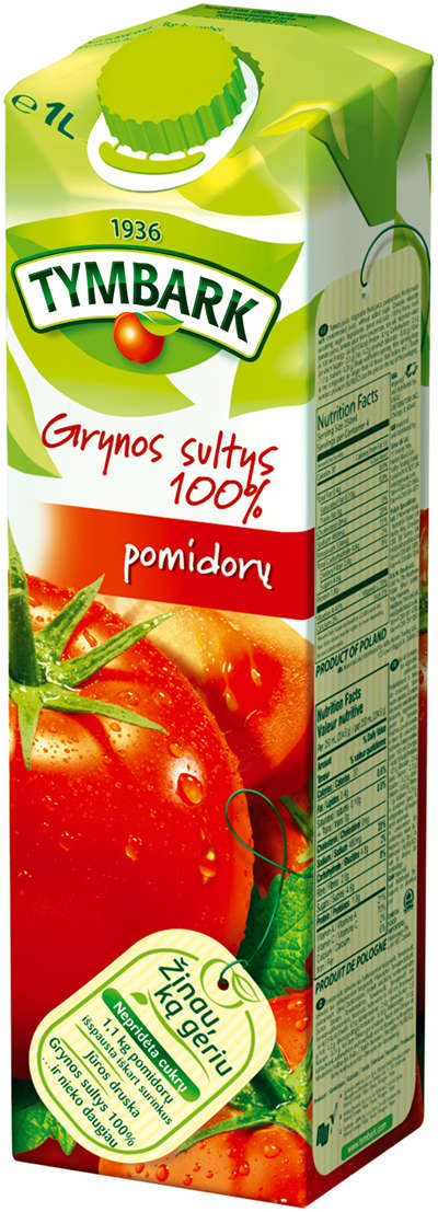 Tomato juice 1L TYMBARK