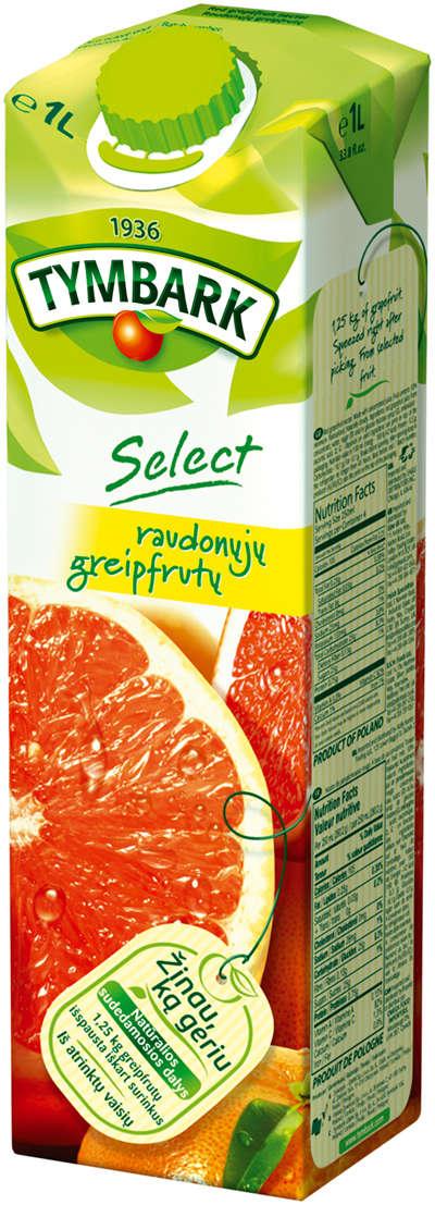 Red Florida grapefruit nectar 1L TYMBARK