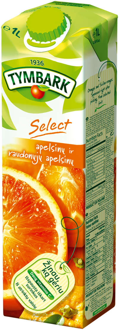 Red Sicily orange drink 1L
