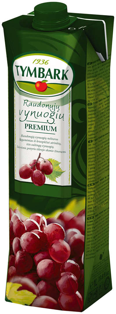 Red grape nectar 1L  TYMBARK