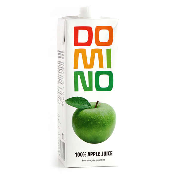 Apple juice DOMINO 100 %, 1L
