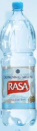 Carbonated natural mineral water Rasa Medium  2l