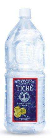 "Still natural mineral water ""Tichė"", 2L"