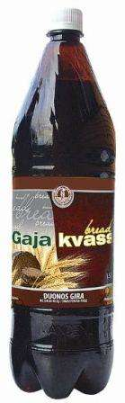 "Carbonated bread taste kvass soft drink ""Gaja"", 1,5L"