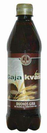 "Carbonated bread taste kvass soft drink ""Gaja"", 0,5L"
