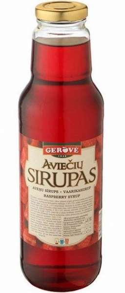 Raspberry syrup 950g