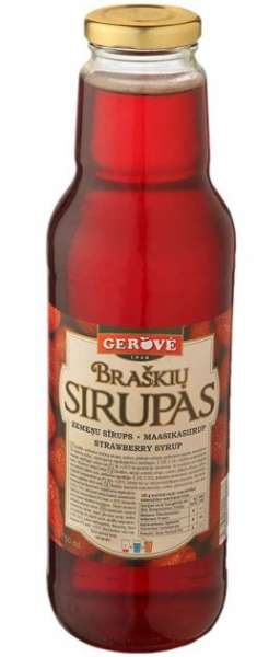 Strawberry syrup 950g