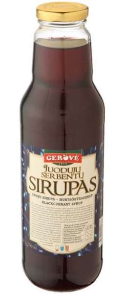 Blackcurrant syrup 950g