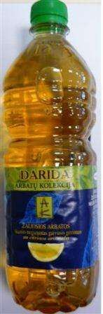 DARIDA 0,75 L «Tea Collection» «Green tea lemon flavored» / Soft drink