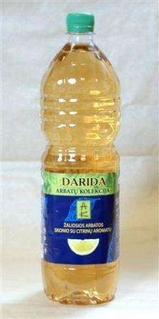 DARIDA 1,5 L «Tea Collection» «Green tea lemon flavored» / Soft drink