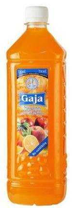 "Non-carbonated fruit flavour soft drink ""Gaja"", 2L"