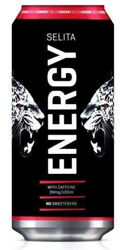 Energy drink SELITA Energija, 0,5L