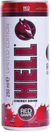 HELL Red Grape Strong 250 ml /energy drink