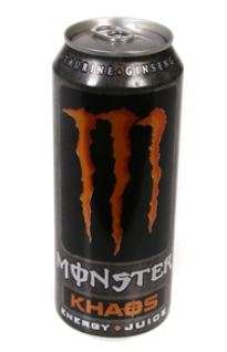 Energy drink Monster khaos energy 0,5 L can