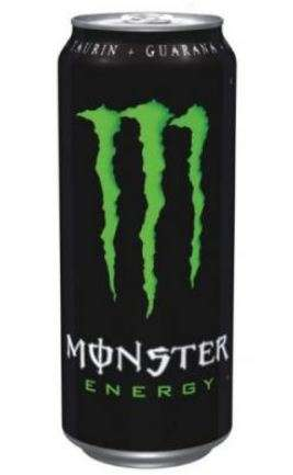 Energy drink Monster energy 0,5L can