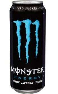 Energy drink Monster abs zero 0,5 L can