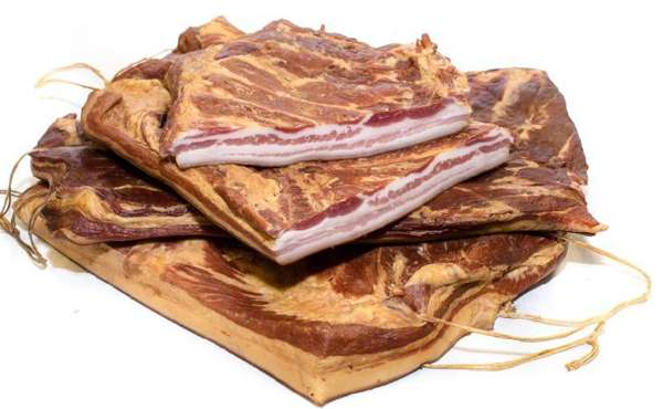 Cold smoked bacon ~ 4kg
