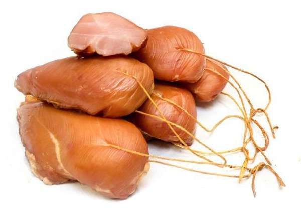 Cold smoked chicken fillet ~ 0,250kg