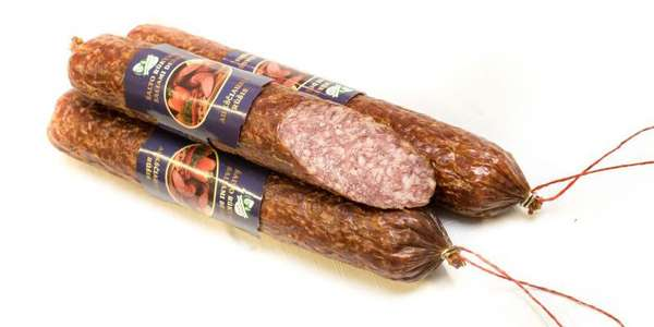 Cold smoking ''Salami'' sausage ~ 0,3kg