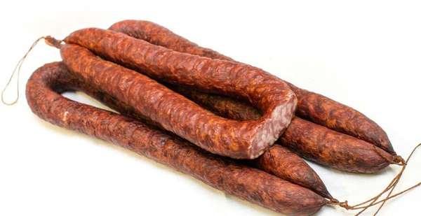 Cold smoked ''Senolių'' sausage ~ 0,450kg