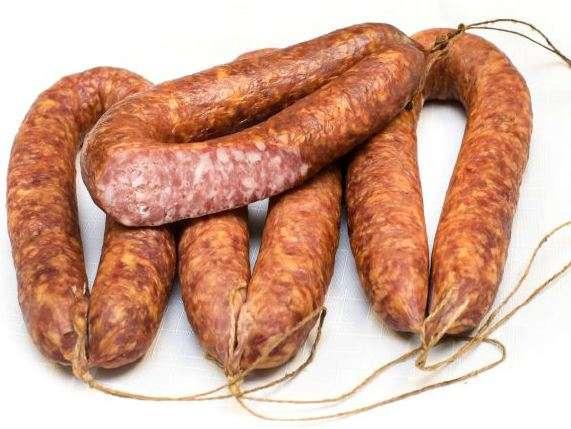 Cold smoking ''Žemaitiška'' sausage ~ 0,250kg
